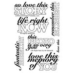 Technique Tuesday - Clear Acrylic Stamps - Life Right Now by Ali Edwards