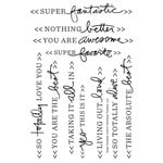 Technique Tuesday - Clear Acrylic Stamps - Super Fantastic by Ali Edwards