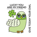 Technique Tuesday - Clear Acrylic Stamps - Shamrock Owl