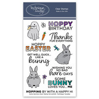 Technique Tuesday - Animal House Collection - Clear Photopolymer Stamps - Some Bunnies