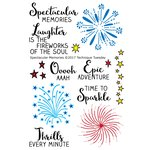 Technique Tuesday - Memory Keepers Studio - Clear Acrylic Stamps - Spectacular Memories