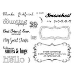 Technique Tuesday - Clear Acrylic Stamps - Sweet Somethings