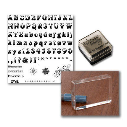 Technique Tuesday - Clear Stamps - Start Me Up - Getting Started With Clear Stamps Kit - Broadway - Beginner Kit