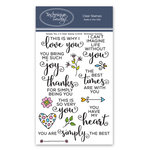 Technique Tuesday - Memory Keepers Studio - Clear Acrylic Stamps - Simply You 2.0