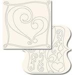 Technique Tuesday - 12x12 Technique Tiles - FUNdamentals of Love