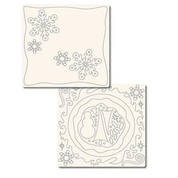 Technique Tuesday - 12x12 Technique Tiles - FUNdamentals of Snow, CLEARANCE