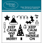 Technique Tuesday - Clear Acrylic Stamps - Twinkle On