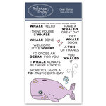 Technique Tuesday - Animal House Collection - Clear Photopolymer Stamps - Wendell the Whale