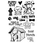 Technique Tuesday - Clear Photopolymer Stamps - Who Let the Dogs Out