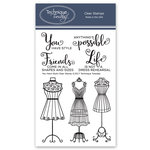 Technique Tuesday - Memory Keepers Studio - Clear Acrylic Stamps - You Have Style