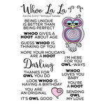 Technique Tuesday - Animal House Collection - Clear Acrylic Stamps - Zsa Zsa the Owl
