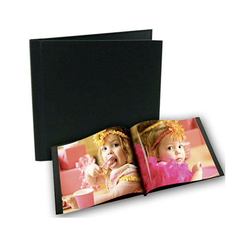 Unibind - Photobook Album - 8 x 8 - Black Linen - 5mm