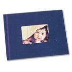 Unibind - Photobook Album - 8.5 x 11 - Blue with Window - 3mm