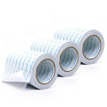 Clear Double Sided Adhesive Roll - 6 Inches x 81 Feet - Permanent - 3 Rolls