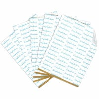 Clear Double Sided Adhesive Sheets - 8.5 x 11 Inches - Permanent - 5 Sheets