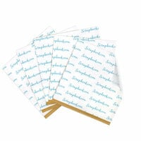 Clear Double Sided Adhesive Sheets - 6 x 6 Inches - Permanent - 5 Sheets