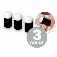 Sponge Daubers for Ink, Paint, Glue  More - Trio 3 Starter Pack