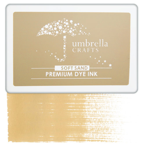 Umbrella Crafts - Premium Dye Ink Pad - Soft Sand