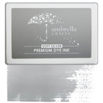 Umbrella Crafts - Premium Dye Ink Pad - Soft Silver