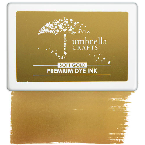 Umbrella Crafts - Premium Dye Ink Pad - Soft Gold