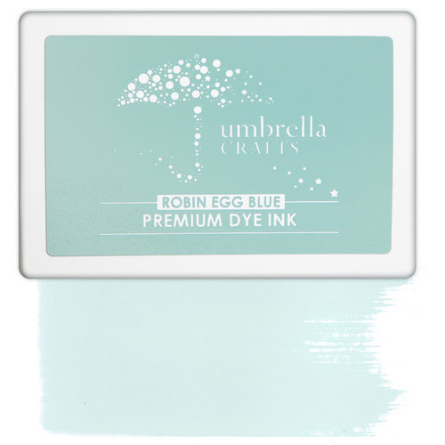 Umbrella Crafts - Premium Dye Ink Pad - Robin Egg Blue