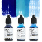Umbrella Crafts - Premium Dye Reinker Kit - Blue Trio