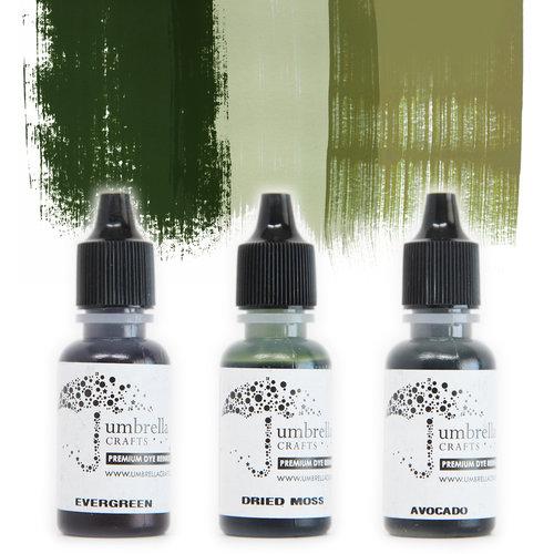 Umbrella Crafts - Premium Dye Reinker Kit - Bold Trio