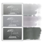 Umbrella Crafts - Premium Dye Ink Pad Kit - Gray Trio