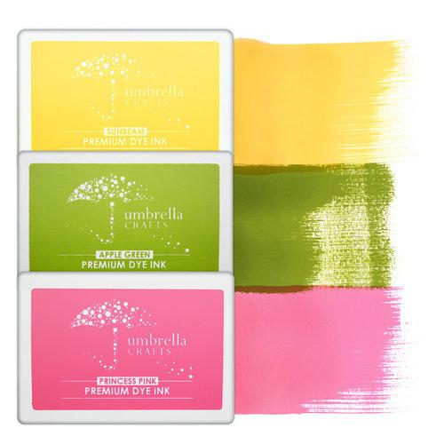 Umbrella Crafts - Premium Dye Ink Pad Kit - Neon Trio