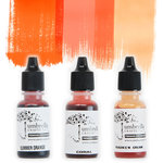 Umbrella Crafts - Premium Dye Reinker Kit - Orange Trio