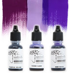Umbrella Crafts - Premium Dye Reinker Kit - Purple Trio