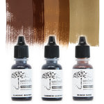 Umbrella Crafts - Premium Dye Reinker Kit - Sepia Trio