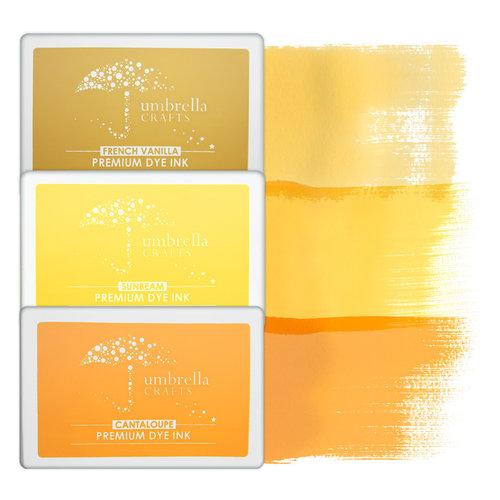 Umbrella Crafts - Premium Dye Ink Pad Kit - Sun Trio
