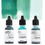 Umbrella Crafts - Premium Dye Reinker Kit - Teal Trio