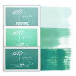 Umbrella Crafts - Premium Dye Ink Pad Kit - Teal Trio