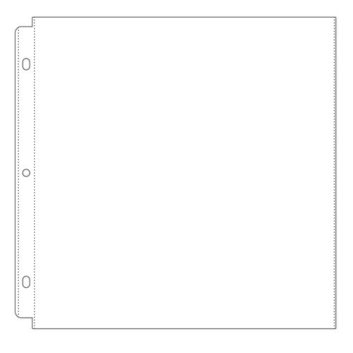 Scrapbook.com - Universal 12x12 Page Protectors for 3-ring Albums - 50 Pack