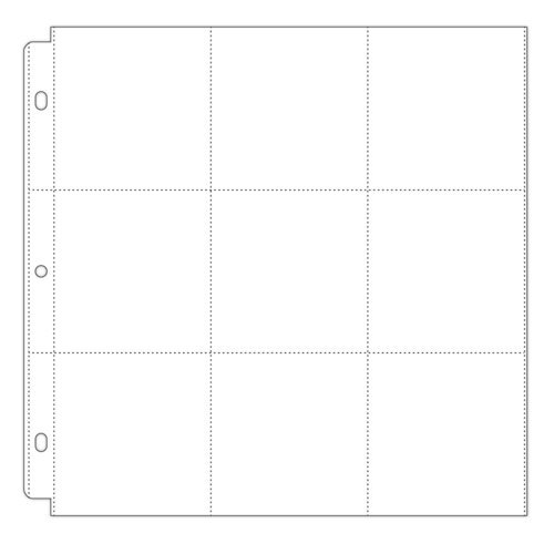 Scrapbook.com - Universal 12x12 Pocket Page Protectors - Style 3 - 10 Pack