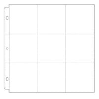 Scrapbook.com - Universal 12 x 12 Pocket Page Protectors - Style 3 - 10 Pack