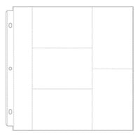 Scrapbook.com - Universal 12 x 12 Pocket Page Protectors - Style 1 - 10 Pack