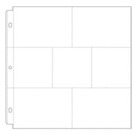Scrapbook.com - Universal 12 x 12 Pocket Page Protectors - Style 2 - 10 Pack