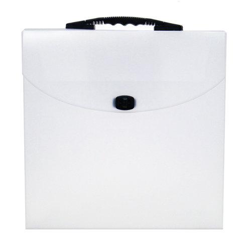 Scrapbook.com - Portable Clear Craft Storage Tote