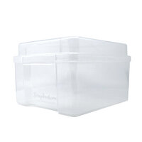 Scrapbook.com - Clear Craft Storage Box - Empty - Medium