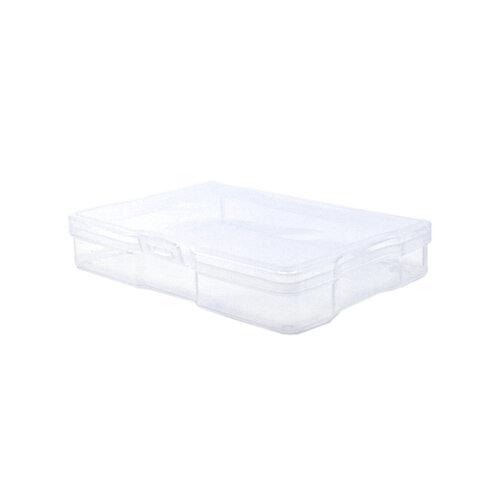 Scrapbook.com - Clear Craft and Photo Storage - 1 4x6 Case