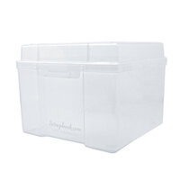 Scrapbook.com - Clear Craft Storage Box - Large
