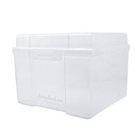 Scrapbook.com - Clear Craft Storage Box - Empty - Large