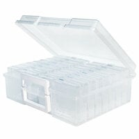 Clear Craft Storage Boxes - 4x6 - 17 Piece Set
