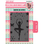 Uchis Design - Clear Acrylic Stamps - Ballerina