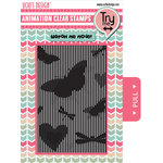 Uchis Design - Clear Acrylic Stamps - Butterflies