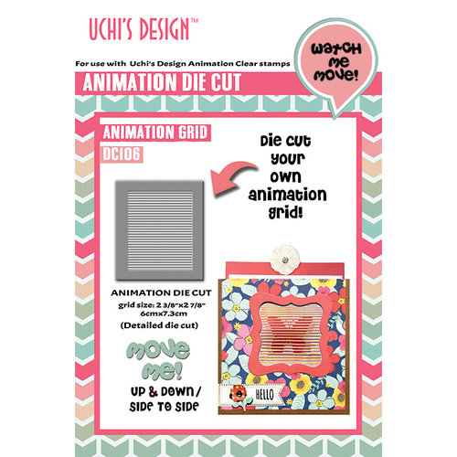 Uchis Design - Animation Die Cuts - Animation Grid