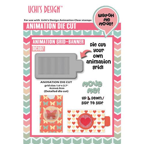 Uchis Design - Animation Die Cuts - Animation Grid - Banner